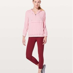 NEW Lululemon pink Pack Light  jacket size 4
